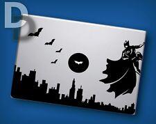 Batman Cityscape with Batman logo moon Macbook decal / Laptop sticker