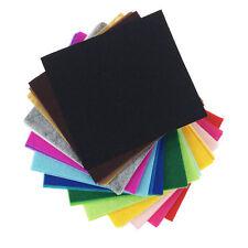 42PCS Assorted Color Wool Felt Fabric Sheets Patchwork Sewing DIY Craft 30*30cm