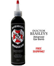 ADVANCED DOG EAR BOMB CLEANER FUNGAL YEAST INFECTION TREATMENT MEDICINE, 8 oz