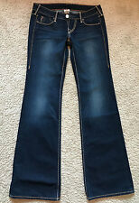True Religion Womens Boot Cut Dark Wash Sample Jeans Size 26