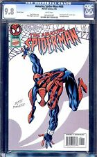 AMAZING SPIDER-MAN #408 RARE VARIANT COVER CGC 9.8  WHITE PAGES