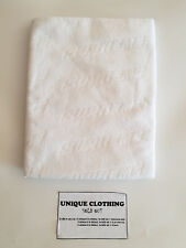SUPREME EMBOSSED LOGO BEACH TOWEL WHITE