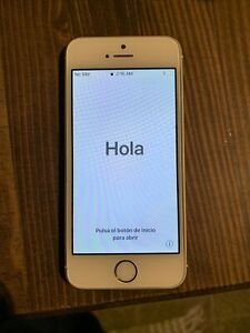 Apple iPhone SE - 16GB - Gold LOCKED NO sim