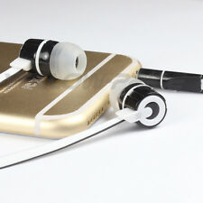 3.5mm Mic Stereo Earphone Headphone Headset for iphone 4 5 Samsung HTC