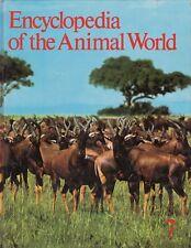 Encyclopedia of the Animal World 7 - Sir Gavin de Beer FRS - HC - 1972 Elsevier.