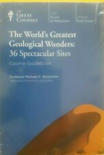 WORLDS GREATEST GEOLOGICAL WONDERS 36 SITES GUIDE BOOK & DVD SET NEW SEALED