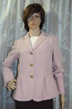Talbots Ladies Size 10 Lavender Wool Jacket Blazer
