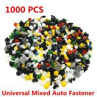 1000 x Car Door Trim Panel Clip Fastener Bumper Rivet Retainer Push Engine Cover