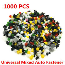 1000 x Car Door Trim Panel Clip Fastener Bumper Rivet Retainer Push Engine Cover