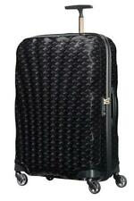 Samsonite cosmolite suitcase 4 wheels 75cm black limited edition print