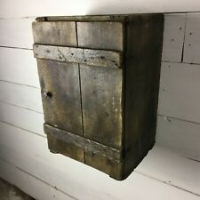 Vintage Scotch Whisky Box Crate Drinks Cabinet with Royal Crest