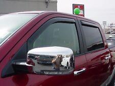 Dodge Ram Crew Cab / Mega Cab 2009-2017 Wind deflectors In-Channel