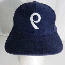 The Back 9 Nine Navy Blue Golf Hat Cap Snap Back Made USA Cotton