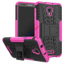 For Alcatel POP 4 Plus Case Tough Rugged Armor Protective Cover with Kickstand