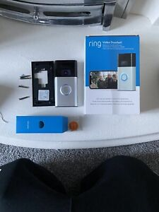 Ring Video Doorbell (Gen 2) Full HD 1080p Used Good Condition