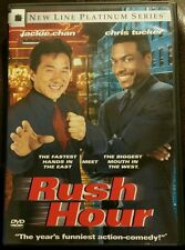 Rush Hour DVD Movie 1998 Platinum Series Jackie Chan Chris Tucker Action Comedy