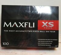 MAXFLI XS Tour Golf Balls 12 Count 4 Sleeves of 3 each New. 2-Piece Ball.