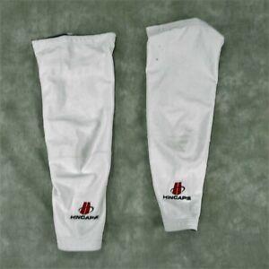 HINCAPIE White LEG WARMERS MENS SIZE SMALL USED ANB