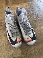 Nike Mercurial Superfly Elite DF FG Football Boots Junior Boys White/Platinum