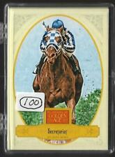(100) 2012 PANINI GOLDEN AGE SECRETARIAT CARD LOT #108 HORSE RACING TRIPLE CROWN