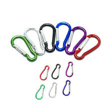Lot 120 Camping Carabiner Spring Belt Clip Key Chain/ 2