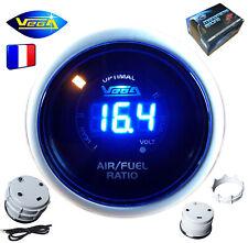 ► Manomètre Racing VEGA® 52mm Richesse Air/Essence AFR Affichage Numérique ◄