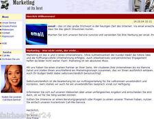 MARKETING AGENTUR WEBPROJEKT - Unternehmens Website WEBSEITE EINZELPLATZ-LIZENZ