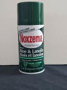 Noxzema Shave Cream Aloe and Lanolin 11oz One Can
