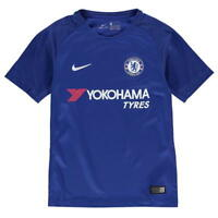 Nike Chelsea Home Shirt 2017 2018 Junior SIZE 12-13 YEARS REF C3685^