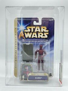 2004 Hasbro Star Wars SAGA 04 Hoth Echo Base R-3PO Droid HIGHEST GRADE AFA-U90