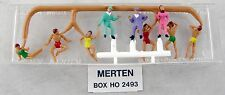 HO Scale Rubber Dinghy Occupants (9 Figures) - Merten #2493 (New Old Stock)