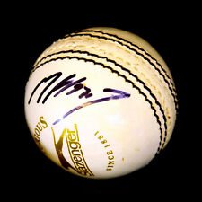 *New* Matthew Hoggard England Hand Signed White Cricket Ball