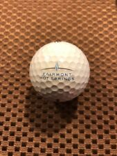 Logo Golf Ball-Fairmont Hot Springs Golf And Ski Resort.Canada