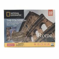 National Geographic 3D Puzzle The Colosseum Architecture Model Kit 131 Piece NEW