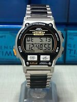 Vintage 1994 Timex Ironman Triathlon Digital 100m 8 Lap Men's Watch With Idiglo~