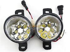 18W 6LEDs  6500K LED Fog Lamp DRL for Nissan Almera Altima Qashqai Versa Maxima