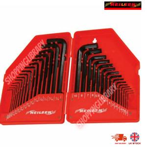 30 Piece Neilsen Metric & Imperial Hex Allen Key Long Set Kit Alen key set New
