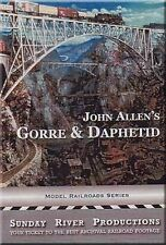 John Allen's Gorre & Daphetid DVD (Gory and Defeated) model railroad layout