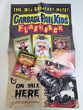 2010 USA Garbage Pail Kids FLASHBACK 1 Hobby BOX Poster On Sale Here - FB1
