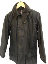 Mens Vtg Barbour A155 Beaufort Waxed Jacket Size C34/86 Cm