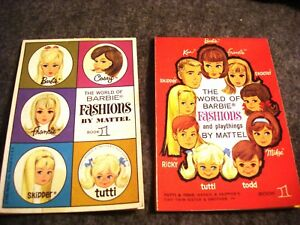 The World of Fashions Book 1 & World of Barbie Fashions & Playthings Book 1