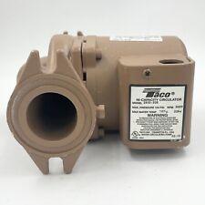 Taco 2400 30s High Capacity Hot Water Circulating Pump 16 Hp 115230v 1 Phase