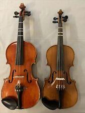 Replica Copy X2 of Antonius Stradivarius Violin 1/2 and 3/4 Germany Czecho