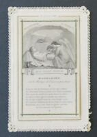 CANIVET à système Madeleine LETAILLE 9  Image Pieuse HOLY CARD 19thC Santino 3