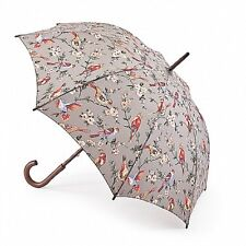 Cath Kidston Kensington Walking Umbrella - British Birds Grey