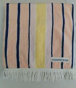 COUNTRY ROAD MULTICOLOURED BEACH TOWEL