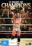 WWE - Night Of Champions 2012 Wrestling DVD New Region 4 Sealed Big Show, Cena