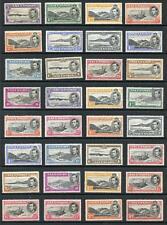 Ascension 1938-53 complete set 32 values SG38/47a MNH cat £629  - SEE DESC
