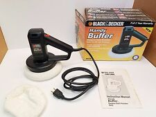 Black & Decker Handy Buffer Car Auto Polisher Orbit Model 9555 .7 Amp, 3200 OPM