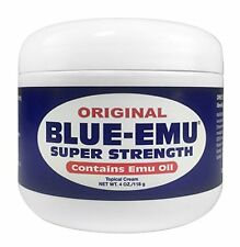 Blue Emu Original Analgesic Cream 4 Oz Soothing Joints Muscles No Grease/Stain